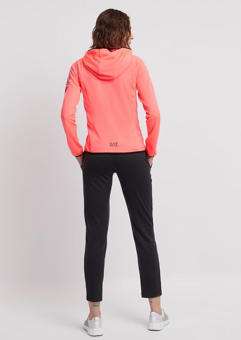 Tracksuit with full-zip, hooded sweatshirt and jogging trousers