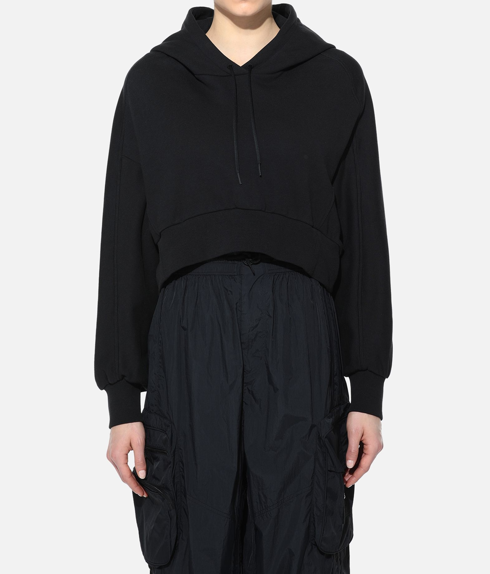 Y-3 Y-3 Toketa Print Cropped Hoodie Hooded sweatshirt Woman d