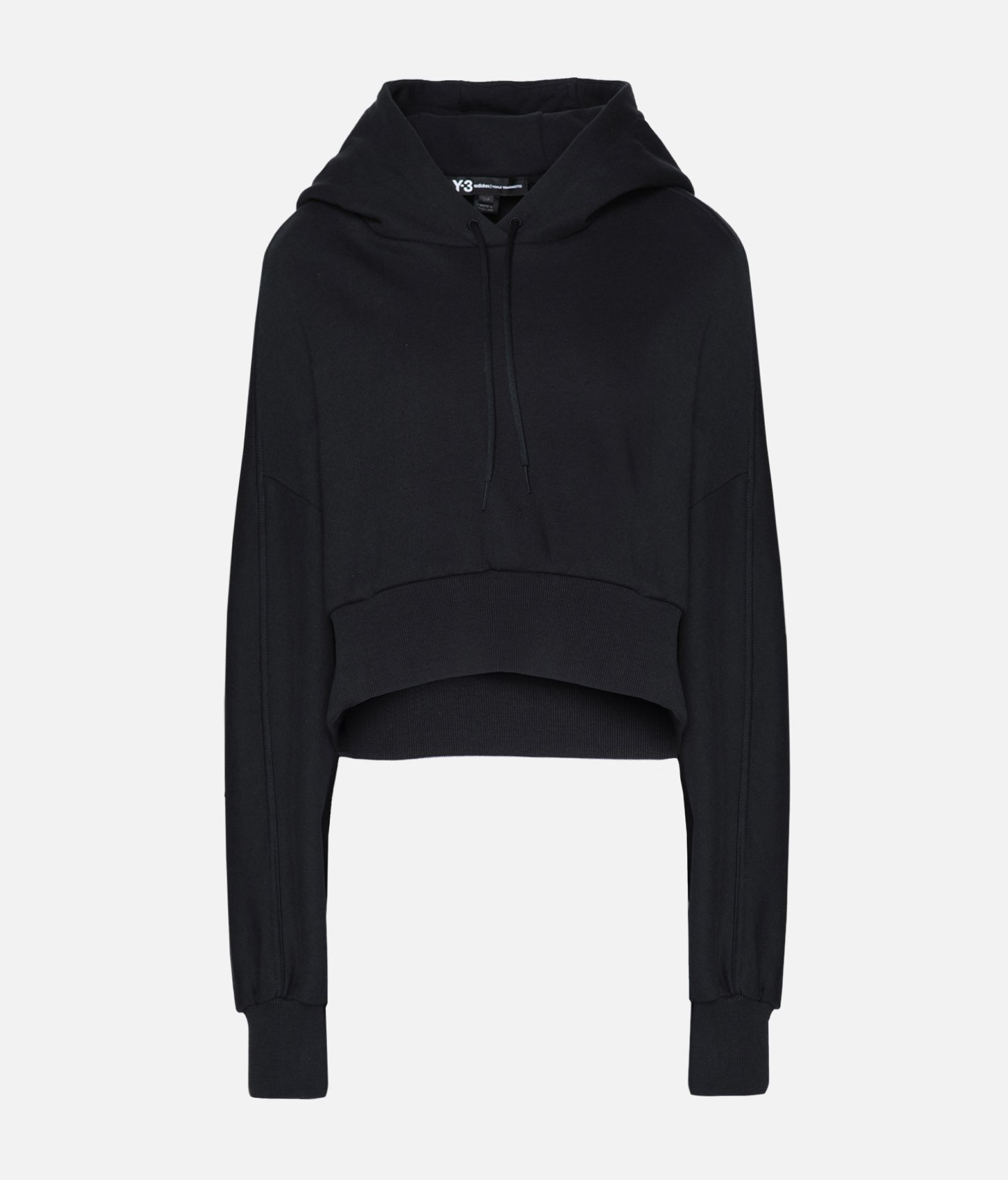 Y-3 Y-3 Toketa Print Cropped Hoodie Hooded sweatshirt Woman f
