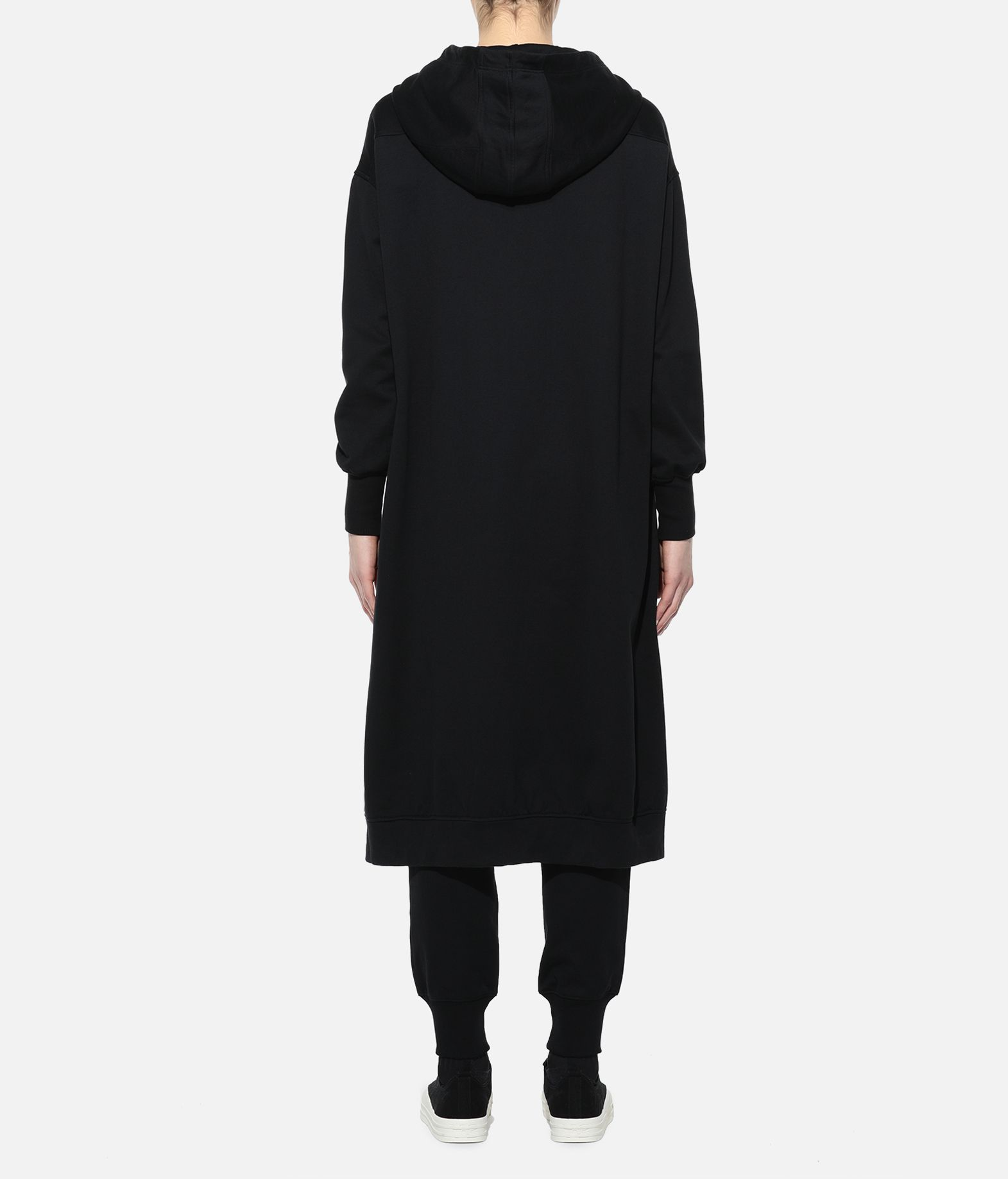Y-3 Y-3 Yohji Letters Full-Zip Long Hoodie Hooded sweatshirt Woman d