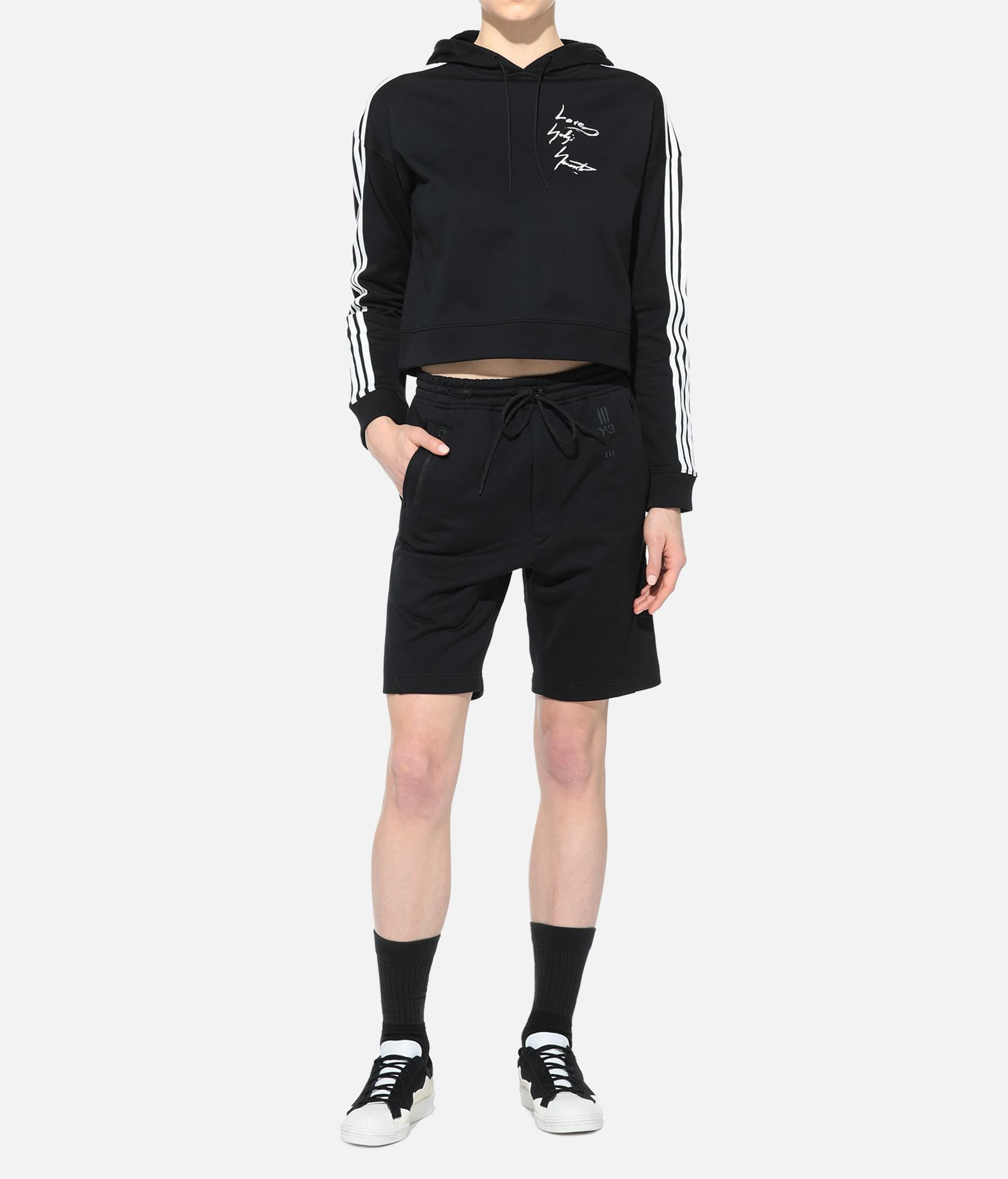 Y-3 Y-3 YOHJI HOODY Hooded sweatshirt Woman a