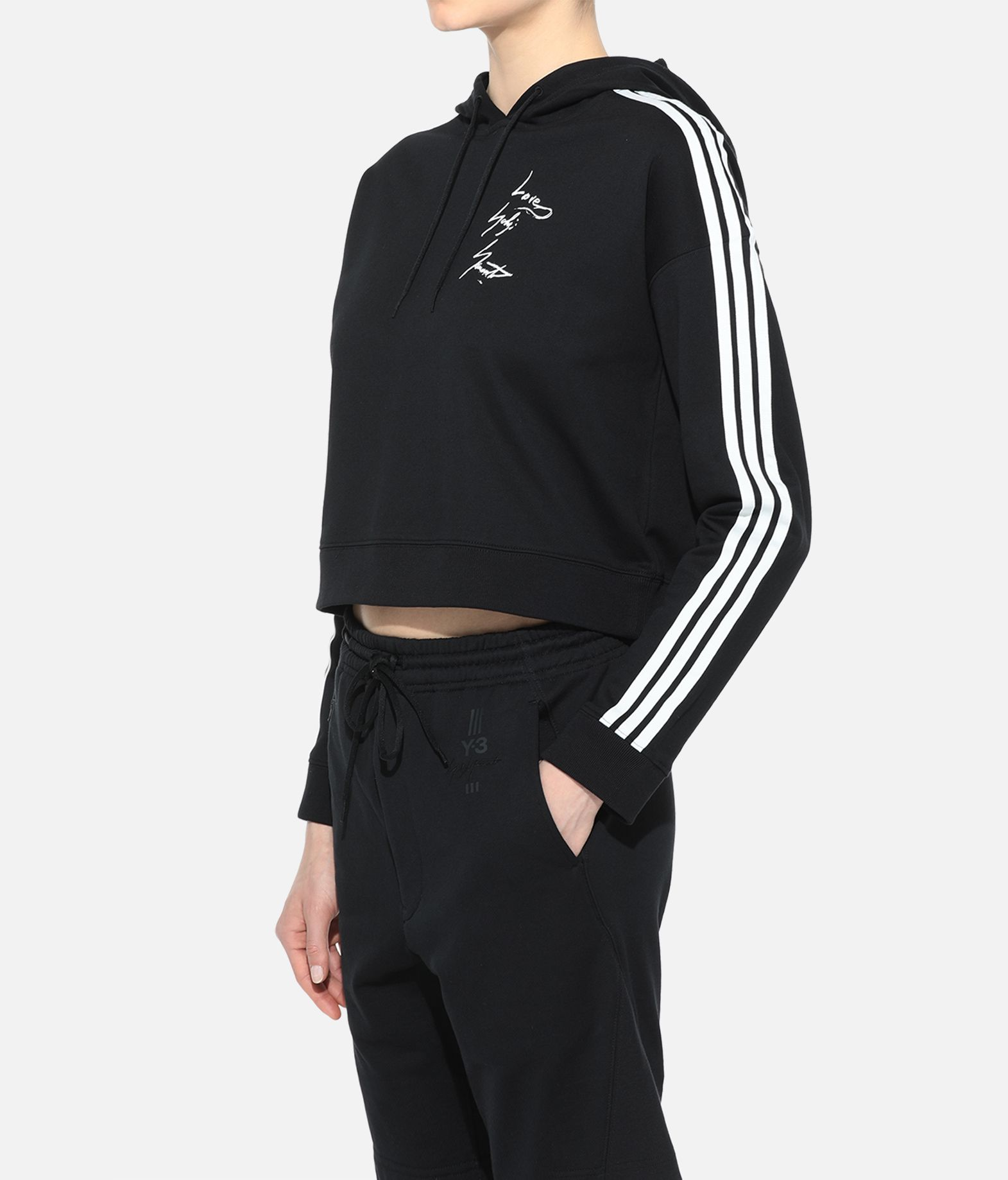 Y-3 Y-3 YOHJI HOODY Hooded sweatshirt Woman e