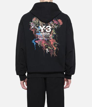 Y-3 Hooded sweatshirt Man Y-3 Toketa Print Hoodie r
