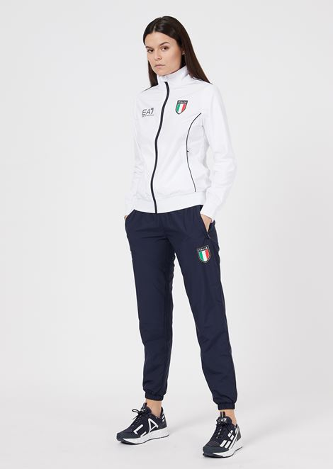 Team Italia fleece jumpsuit