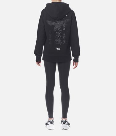 Y-3 Hooded sweatshirt Woman r