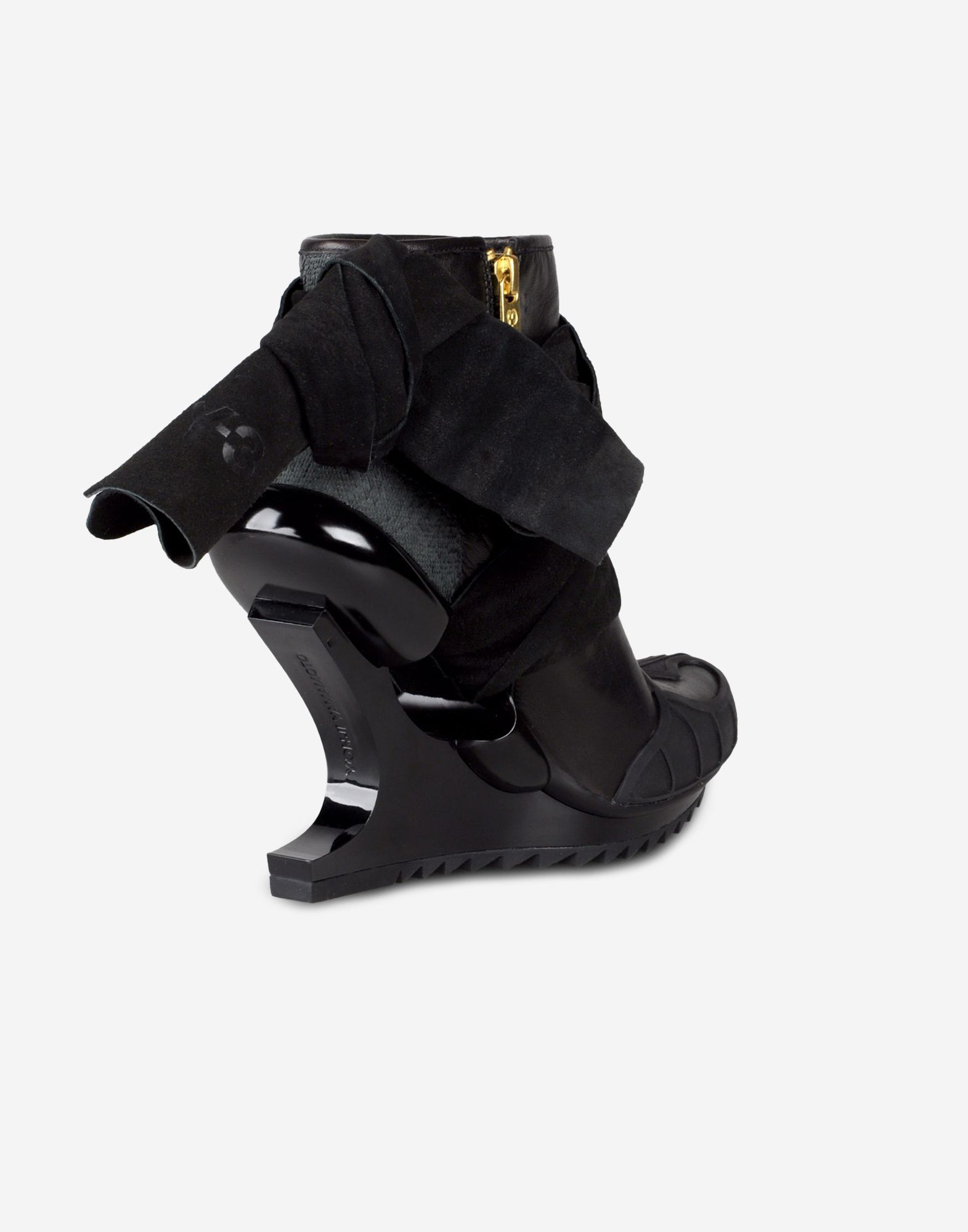 70c4717761eb ... Y-3 Y-3 Nomad Wedge Ankle boots Woman d ...