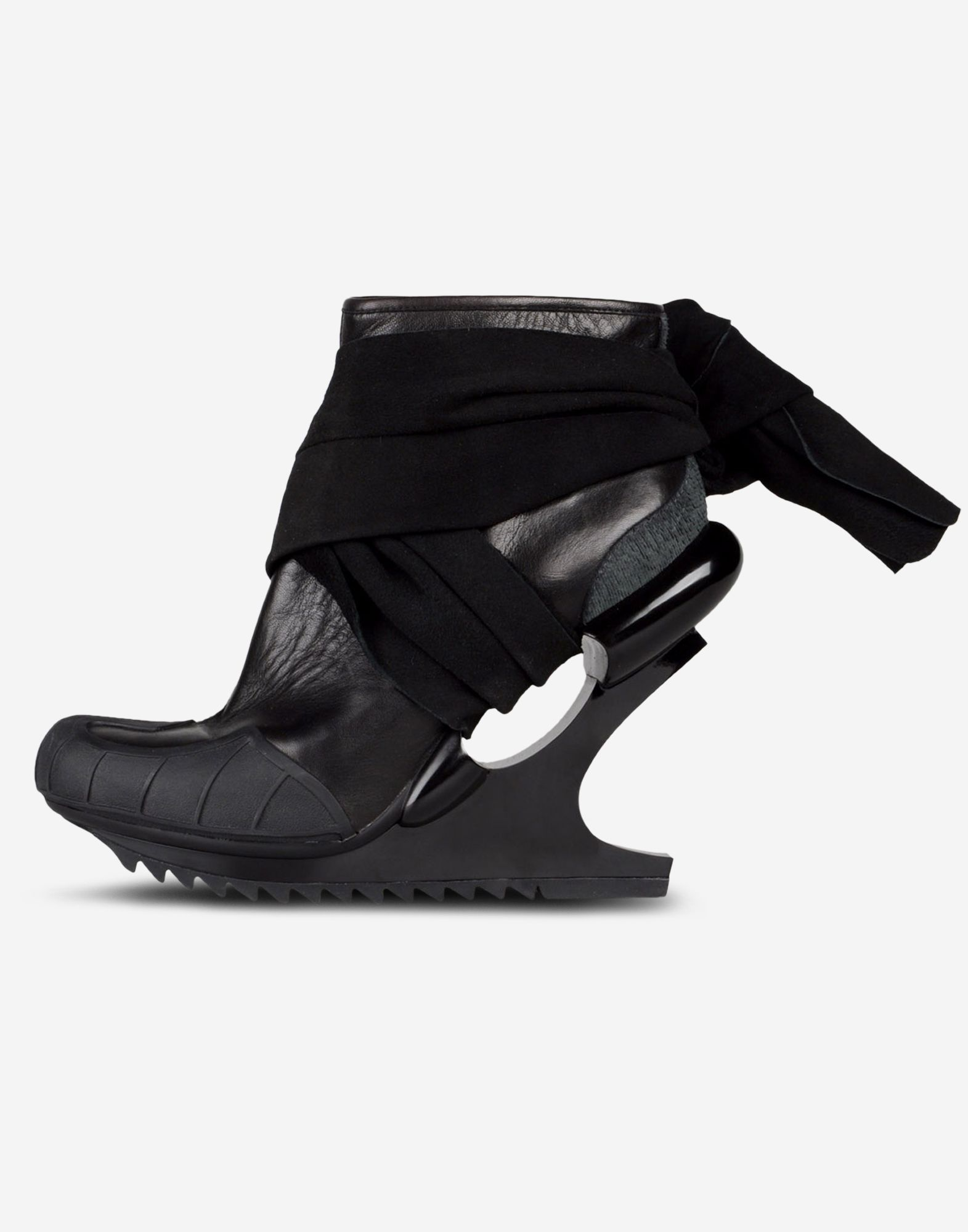 e9642754c ... Y-3 Y-3 Nomad Wedge Ankle boots Woman f ...