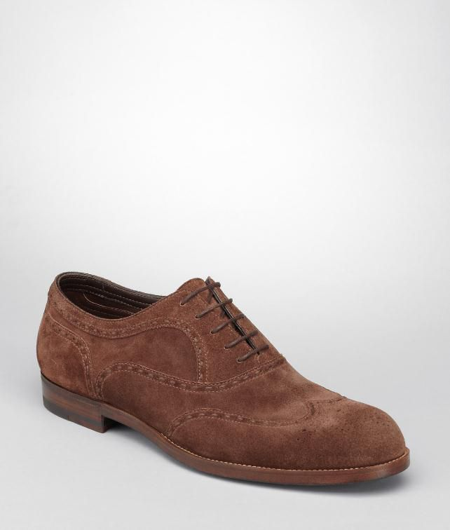 BOTTEGA VENETA Calf Suede York Shoe Lace Up U fp