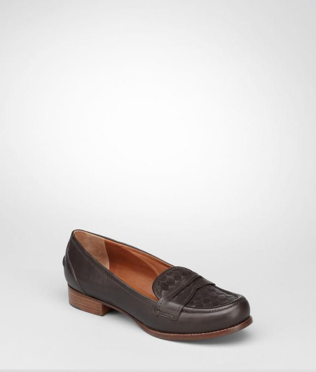 BOTTEGA VENETA Intrecciato Calf Loafer Flats, ballerinas and loafers D fp
