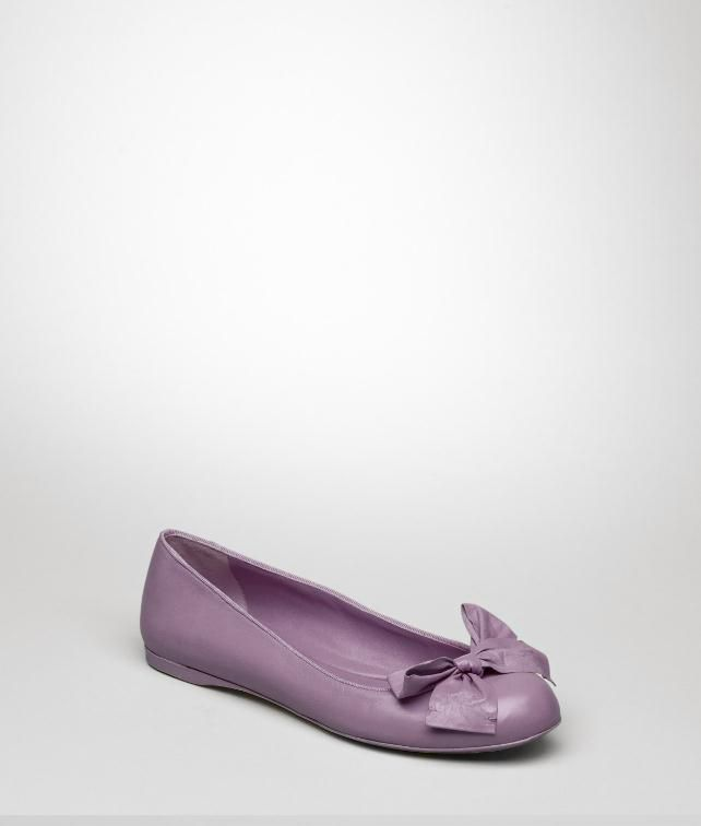 BOTTEGA VENETA Goatskin Ballerina Flats, ballerinas and loafers D fp