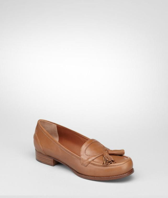 BOTTEGA VENETA Calf Loafer Flats, ballerinas and loafers D fp
