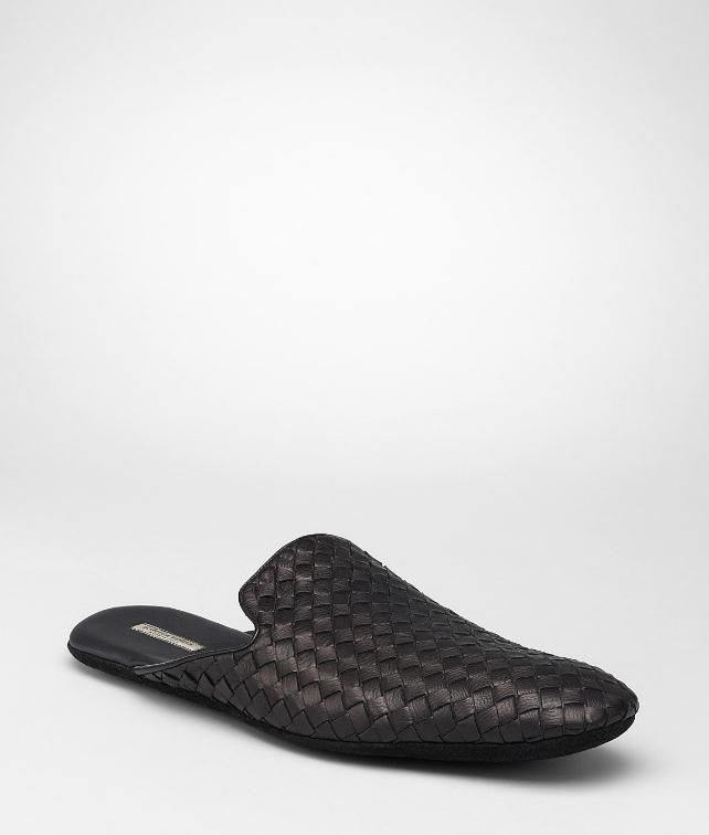 BOTTEGA VENETA Intrecciato Foulard Calf Slipper Slippers U fp