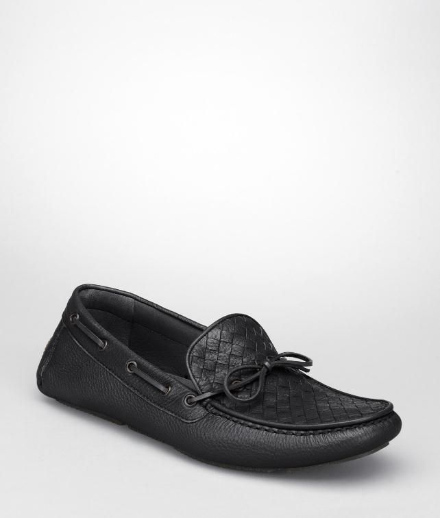 BOTTEGA VENETA NERO CERVO MOCCASIN Mocassin or Slipper U fp