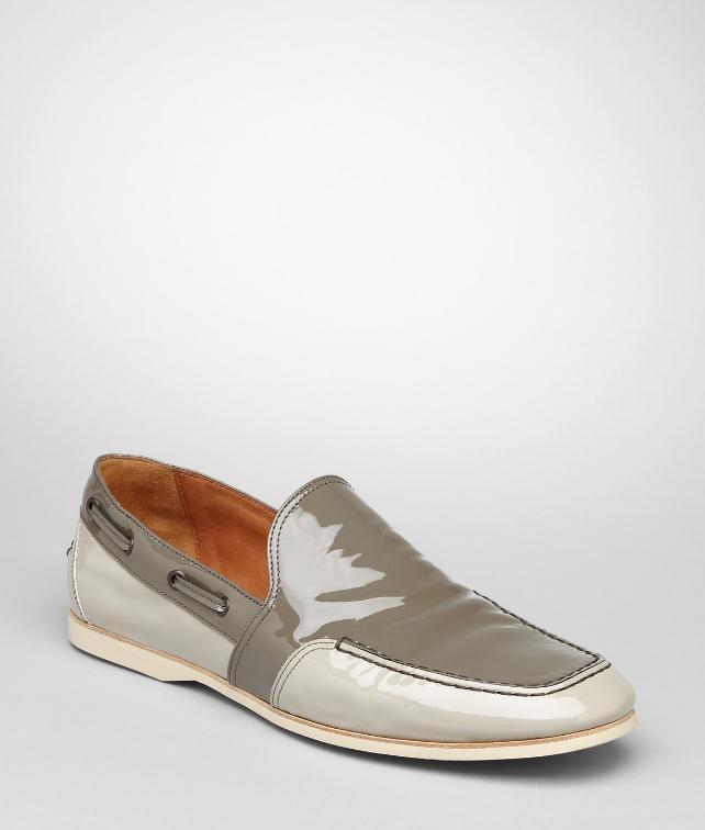 BOTTEGA VENETA Vernice Boat Shoe Moccasins U fp