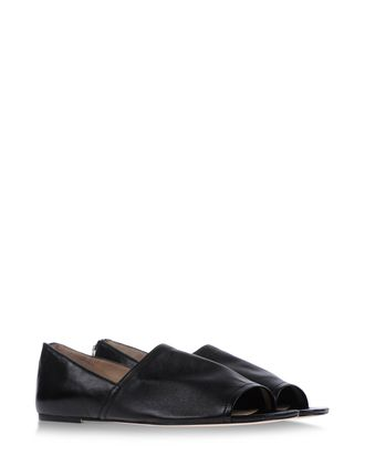 Open toe flats - ELIZABETH AND JAMES