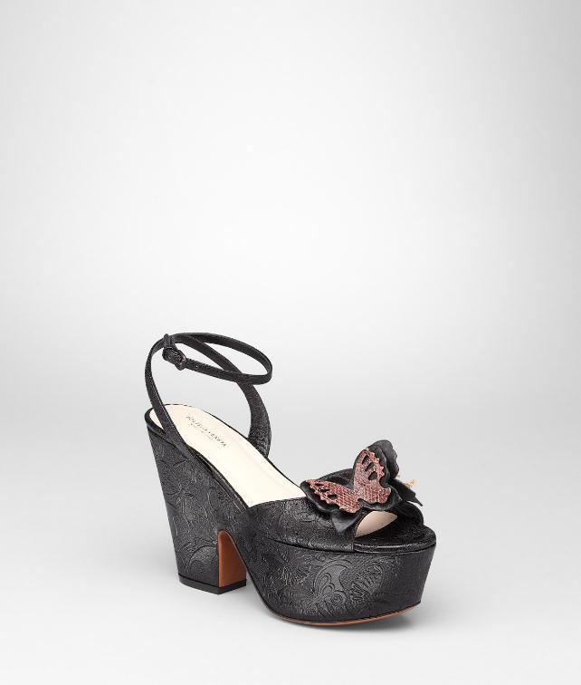 BOTTEGA VENETA Calf Ayers Butterfly Gilda Wedge Heels and wedges D fp