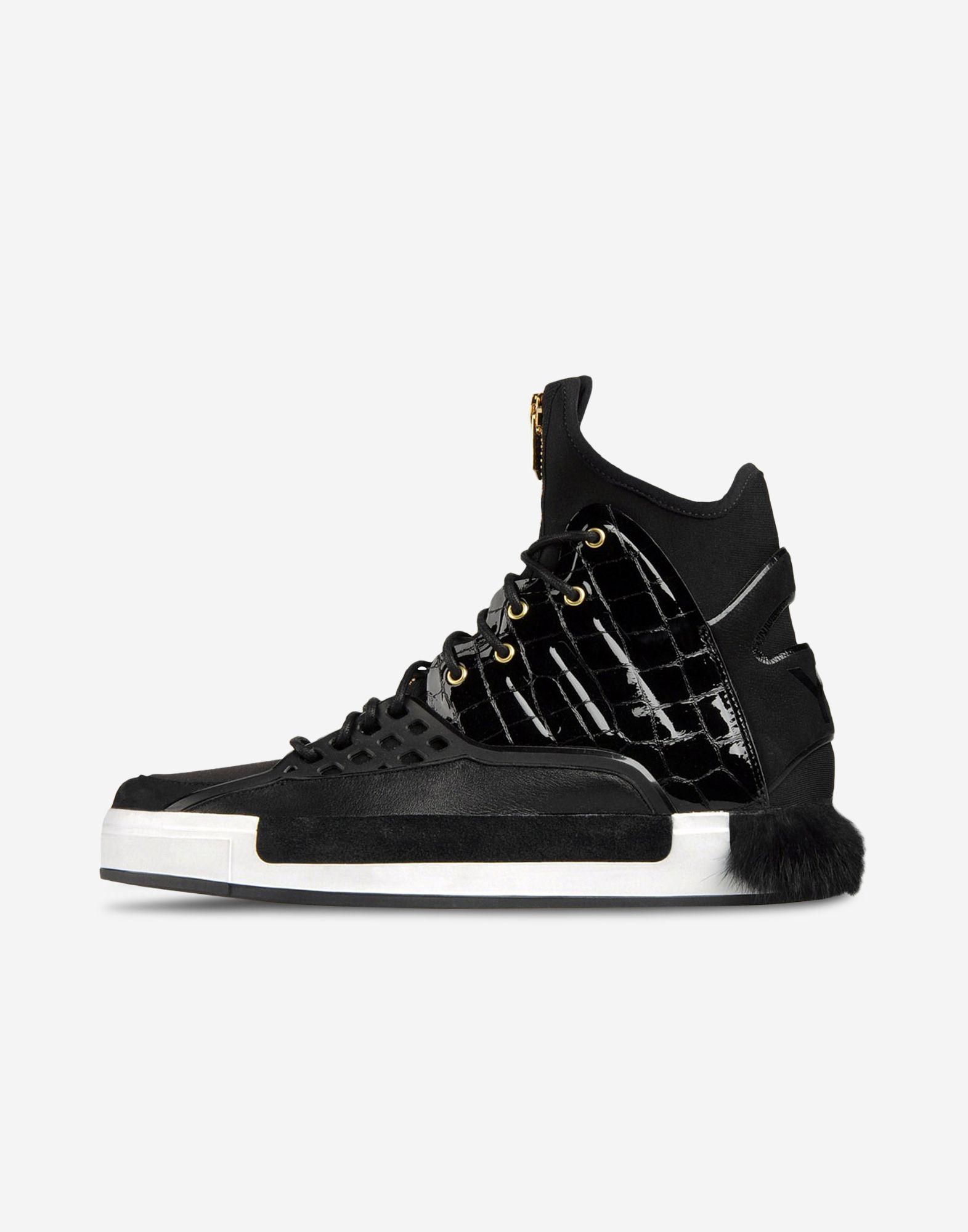 9bf66d7bf ... Y-3 Y-3 Riyal High-top sneakers Woman f ...