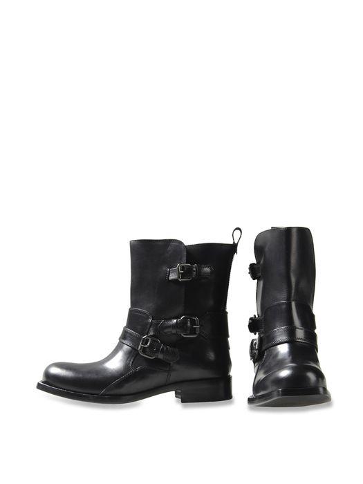 DIESEL BLACK GOLD MOTO-HB Elegante Schuhe D r