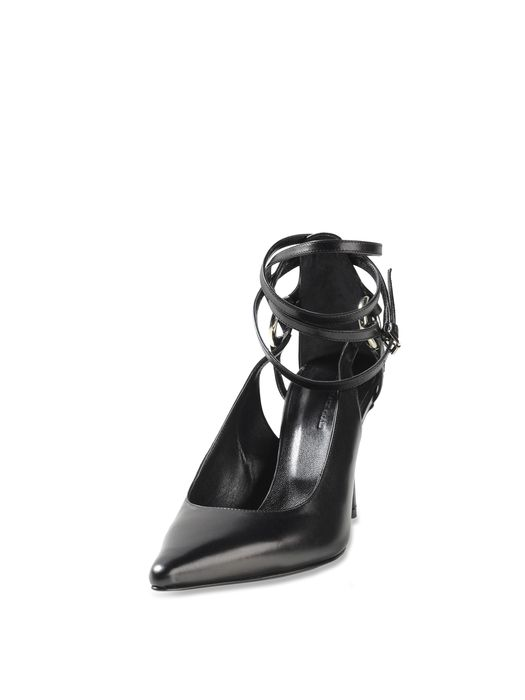 DIESEL BLACK GOLD LACED PUMP AI-WR Dress Shoe D f