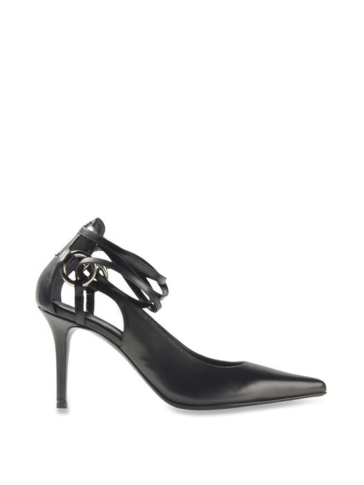 DIESEL BLACK GOLD LACED PUMP AI-WR Dress Shoe D a