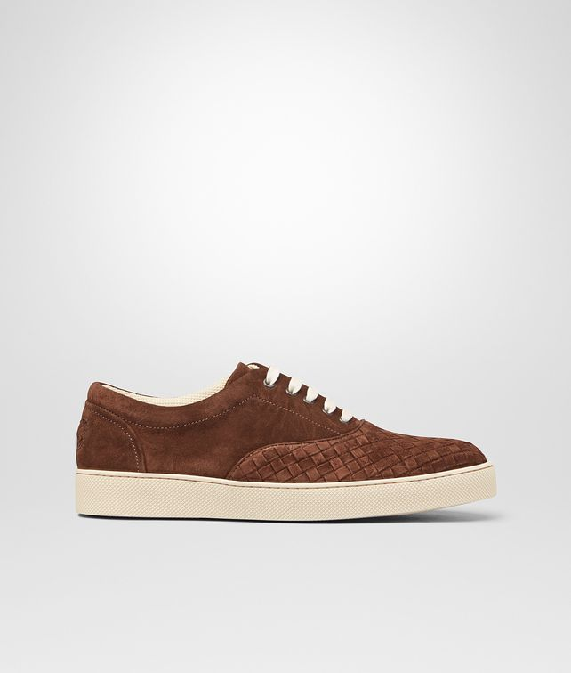 BOTTEGA VENETA Edoardo Intrecciato Suede Sneaker Sneakers U fp
