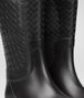 BOTTEGA VENETA RAINBOOT IN NERO RUBBER Boots and ankle boots Woman ap