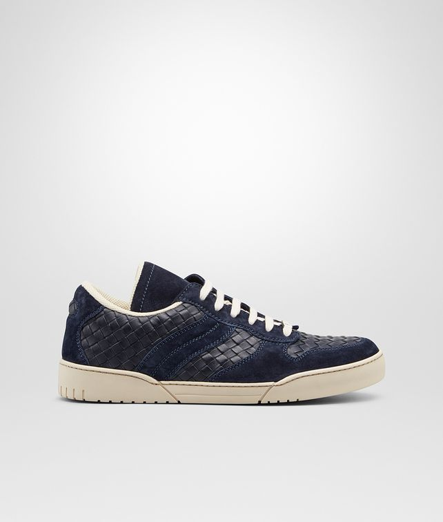 BOTTEGA VENETA Sneakers Prusse in Vitello Intrecciato Sneakers U fp