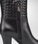 BOTTEGA VENETA Nero Intrecciato Calf Boot Boots and ankle boots D ap