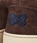 BOTTEGA VENETA Prusse Espresso Intrecciato Suede Sneaker Sneakers U ap