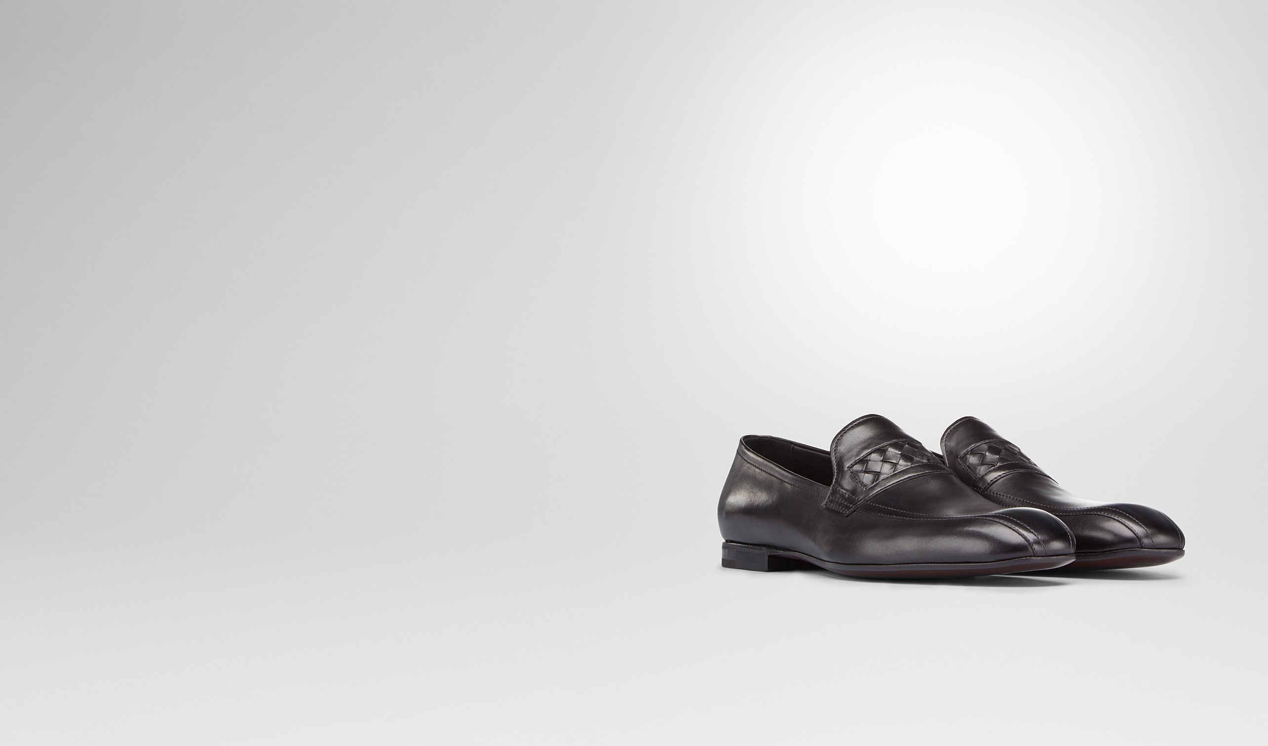 BOTTEGA VENETA Lace Up U Nero Calf Shoe pl