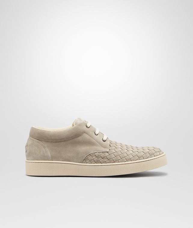 BOTTEGA VENETA Sneakers Fumé in Suede Intrecciato Sneakers U fp