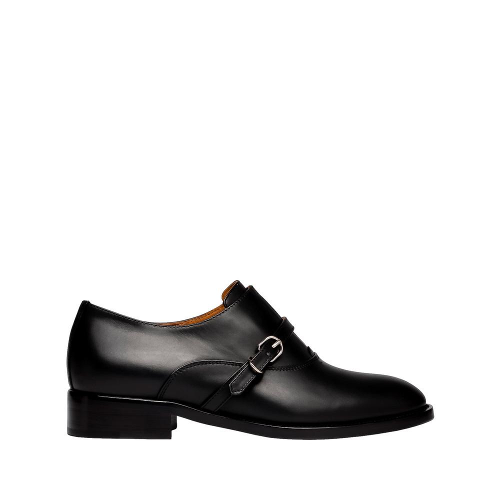 BALENCIAGA Balenciaga Papier Derby Buckle Shoes Moccasins D f