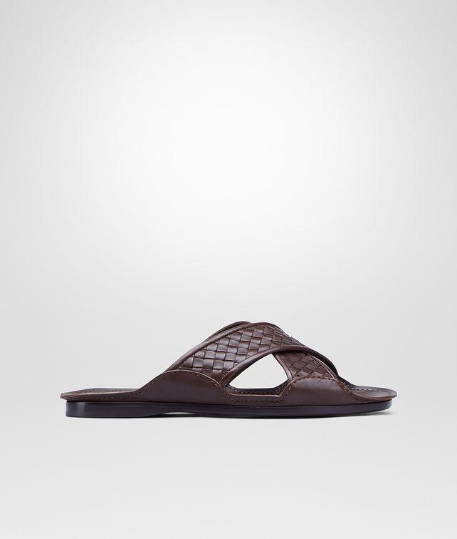 BOTTEGA VENETA Sandale aus Kalbsleder Intrecciato Edoardo Sneaker oder Sandale U fp