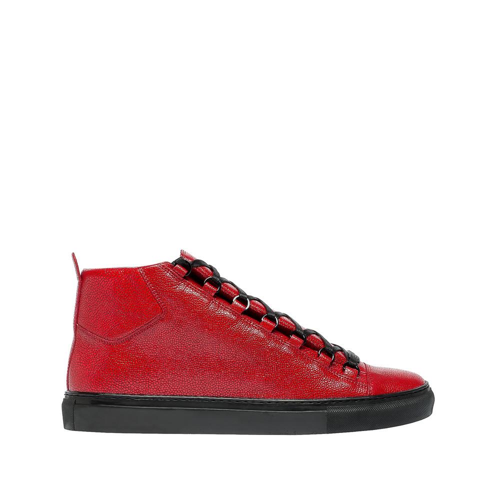 BALENCIAGA Balenciaga Sneakers Hautes Imprimé Galuchat Sneakers U f