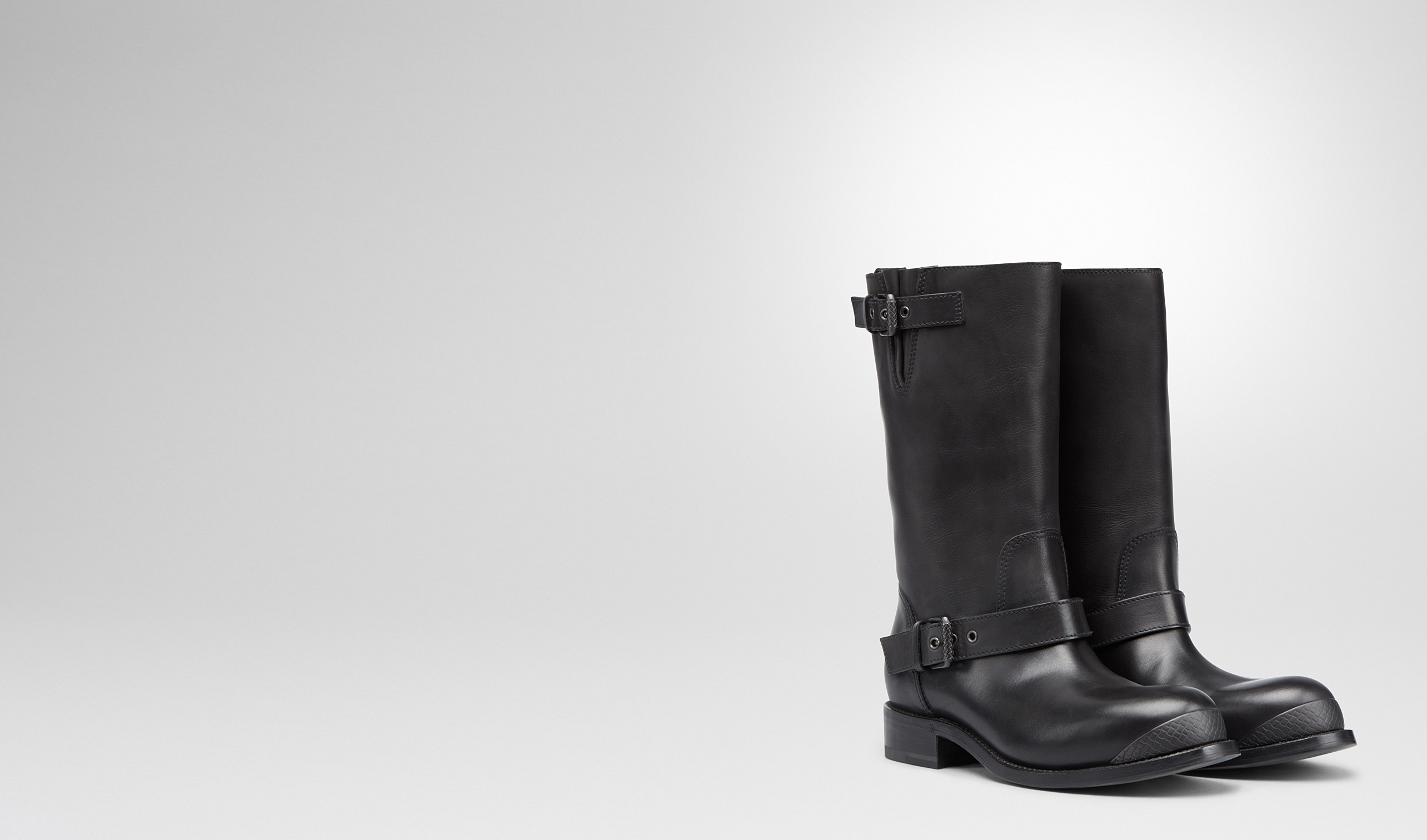BOTTEGA VENETA Boots and ankle boots D Nero Calf Boot pl