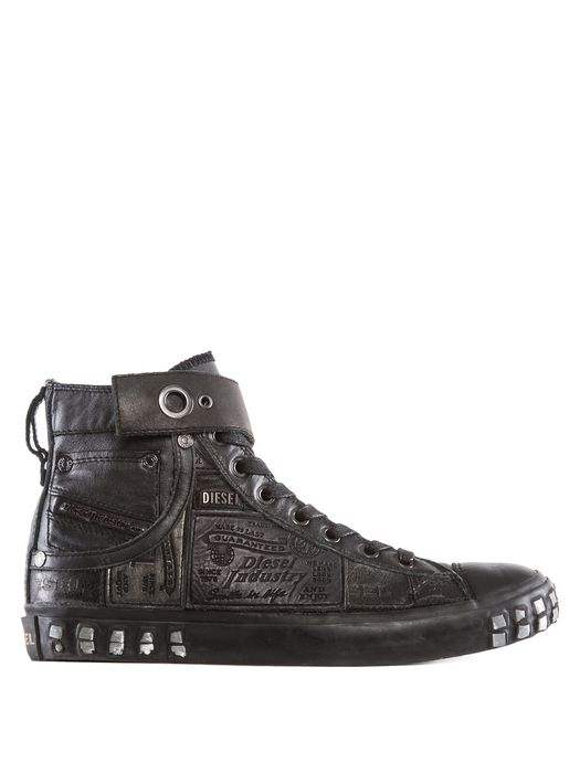 DIESEL REBOOT LEATHER SNEAK Sneakers D f