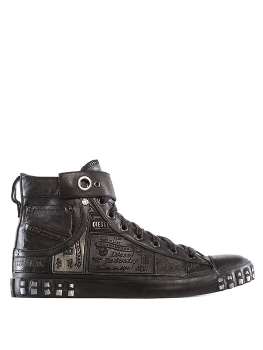 DIESEL REBOOT LEATHER SNEAK Sneakers U f