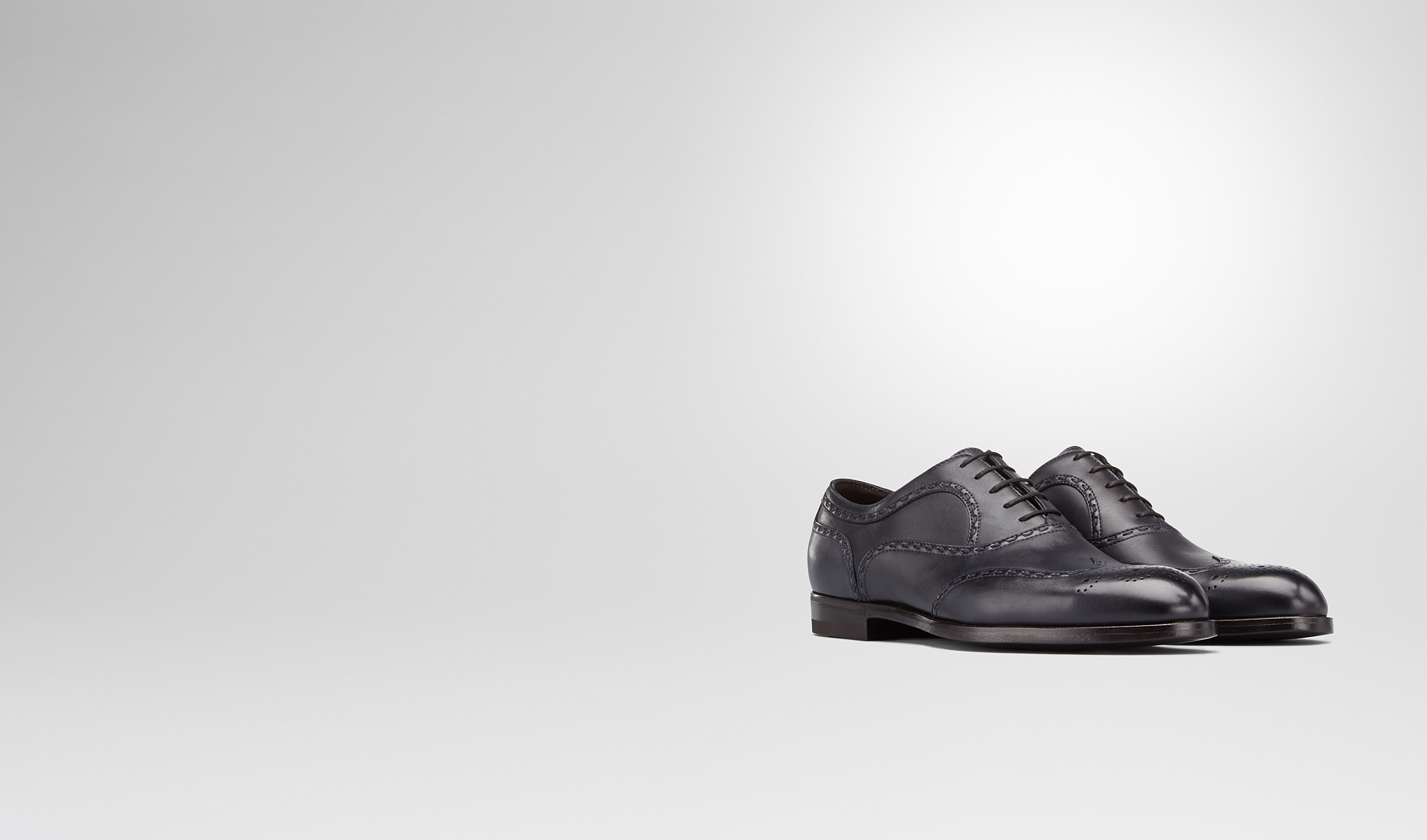 BOTTEGA VENETA Lace Up U YORK IN PRUSSE CALF pl