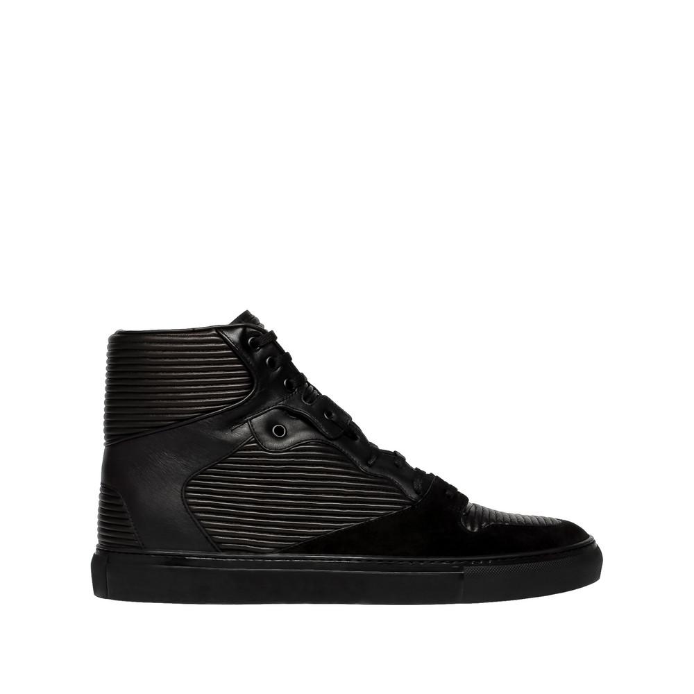 BALENCIAGA Balenciaga Cotes Monochrome High Sneakers Sneaker U f