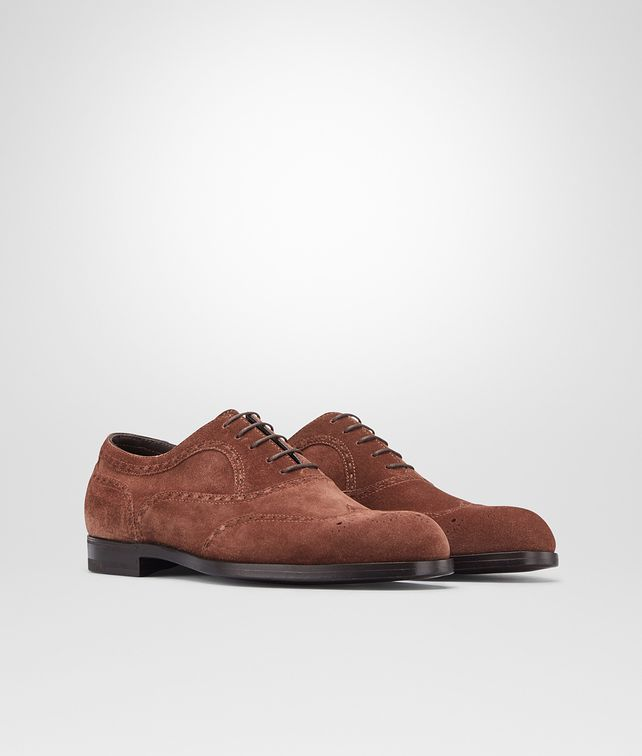 BOTTEGA VENETA YORK IN EDOARDO SUEDE Lace Up U fp