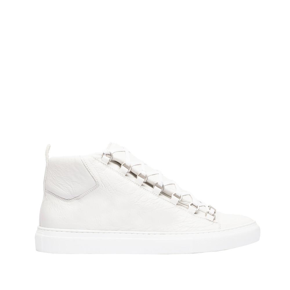 BALENCIAGA Shiny effect High Sneakers Arena Sneakers U f