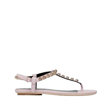 Balenciaga Giant Sandalias con Tira Delantera en T Oro