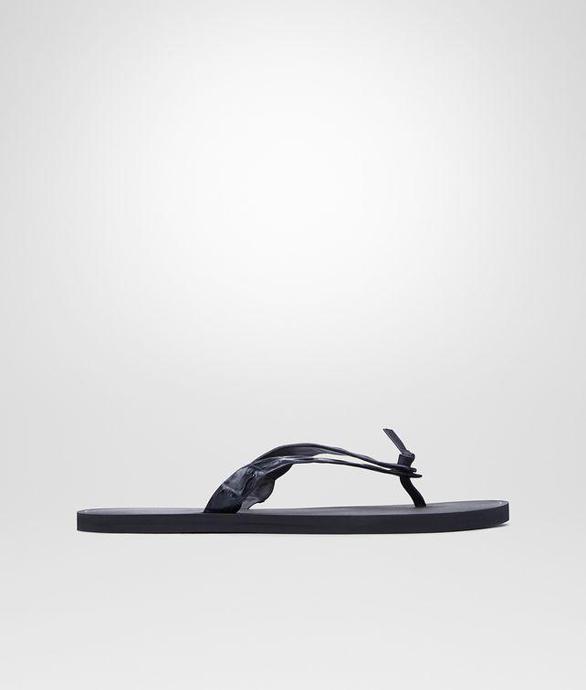 BOTTEGA VENETA Dark Prusse Crocodile Sandal Sneaker or Sandal U fp