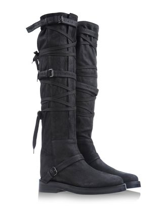 Over the knee boots - ANN DEMEULEMEESTER