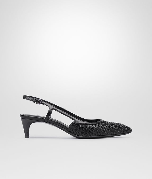 BOTTEGA VENETA NERO STUOIA SMOOTH CHEVRE PUMP Pump or Sandal D fp