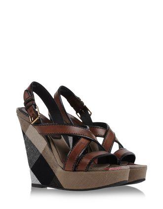 Sandals - BURBERRY BRIT