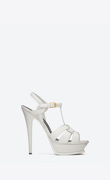 TRIBUTE platform sandals in smooth