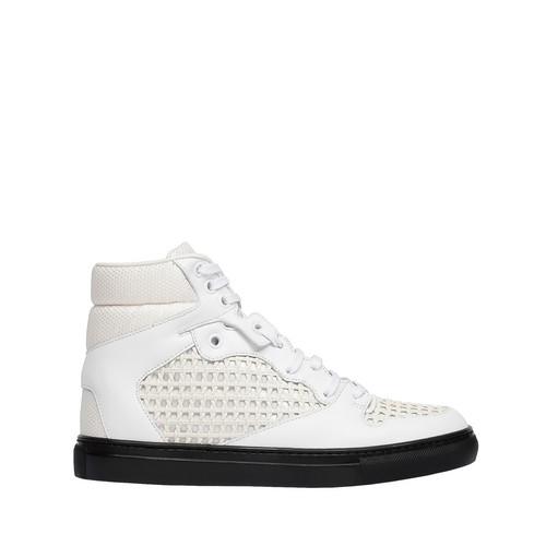 BALENCIAGA Balenciaga Monochrome Grid Sneakers Sneaker D f