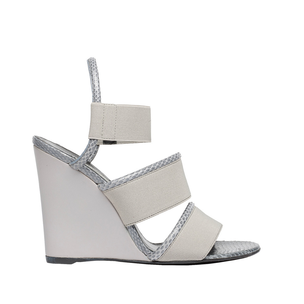 BALENCIAGA Balenciaga Sandales Compensées Glove Ayers Chaussures compensées D f