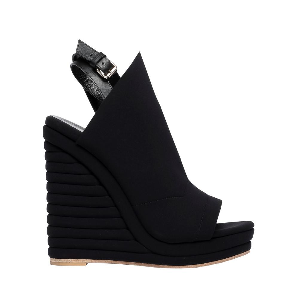 BALENCIAGA Balenciaga Sandales Compensées Glove Néoprène Chaussures compensées D f